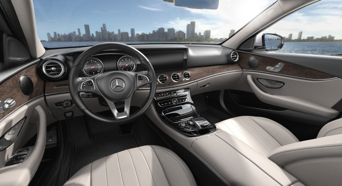 2018 mercedes E300 interior