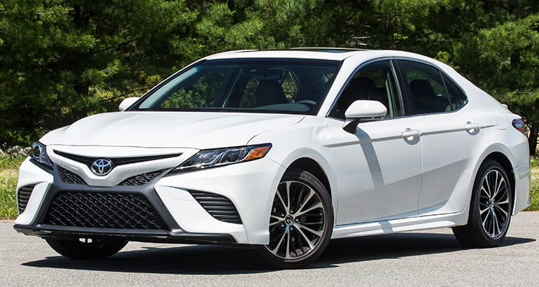 2019 Toyota Camry Se Icarautoleasing