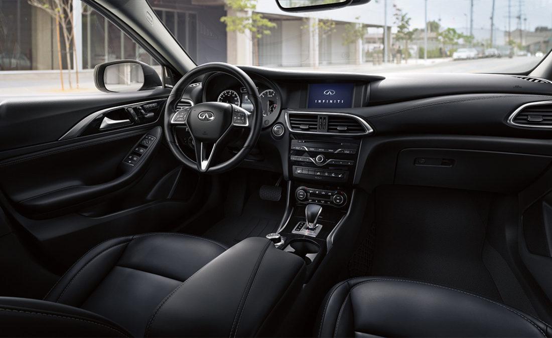 2018 infinity QX30 interior