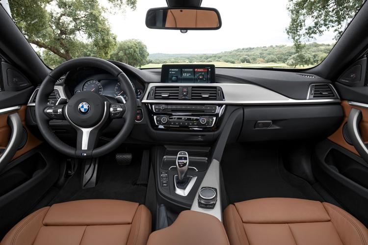 BMW 430i coupe interior